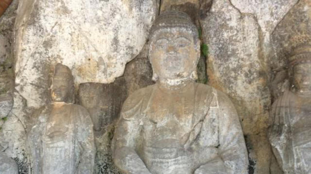 磨崖仏の話