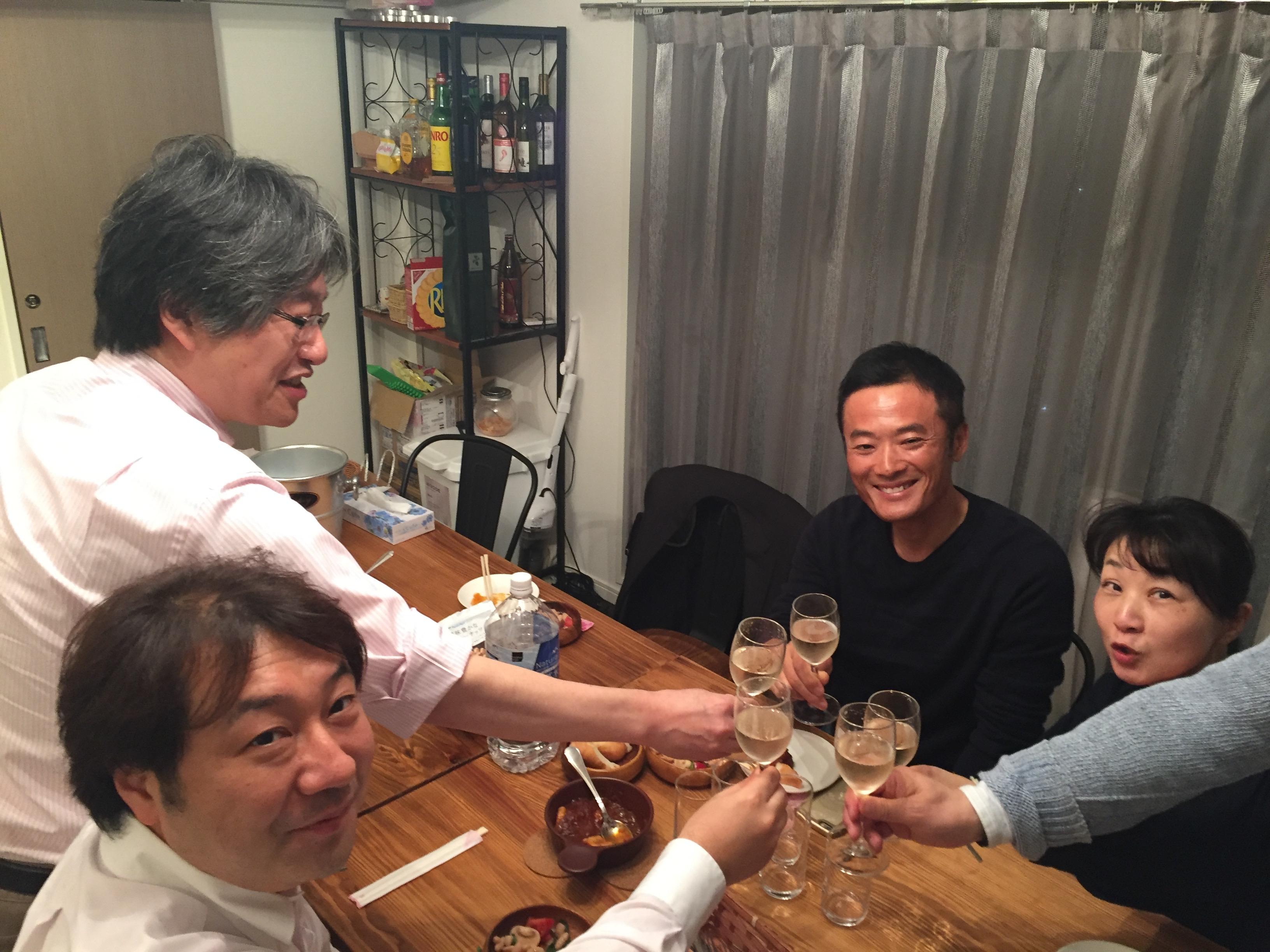 ホームパーティー!?