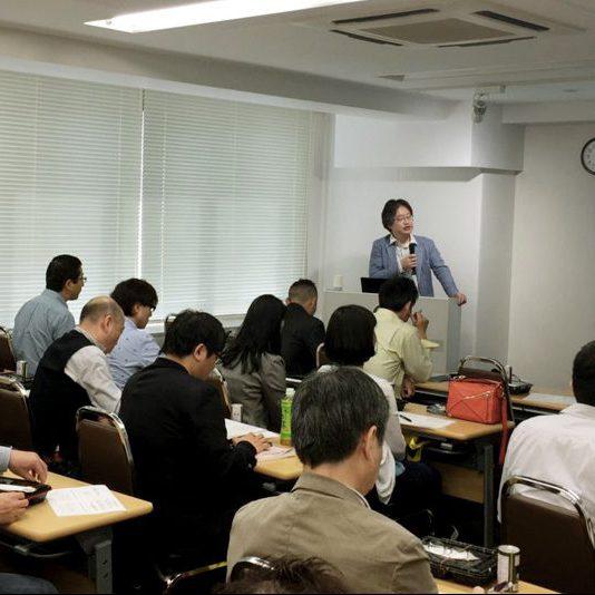 投資フェスで登壇する岡崎良介氏